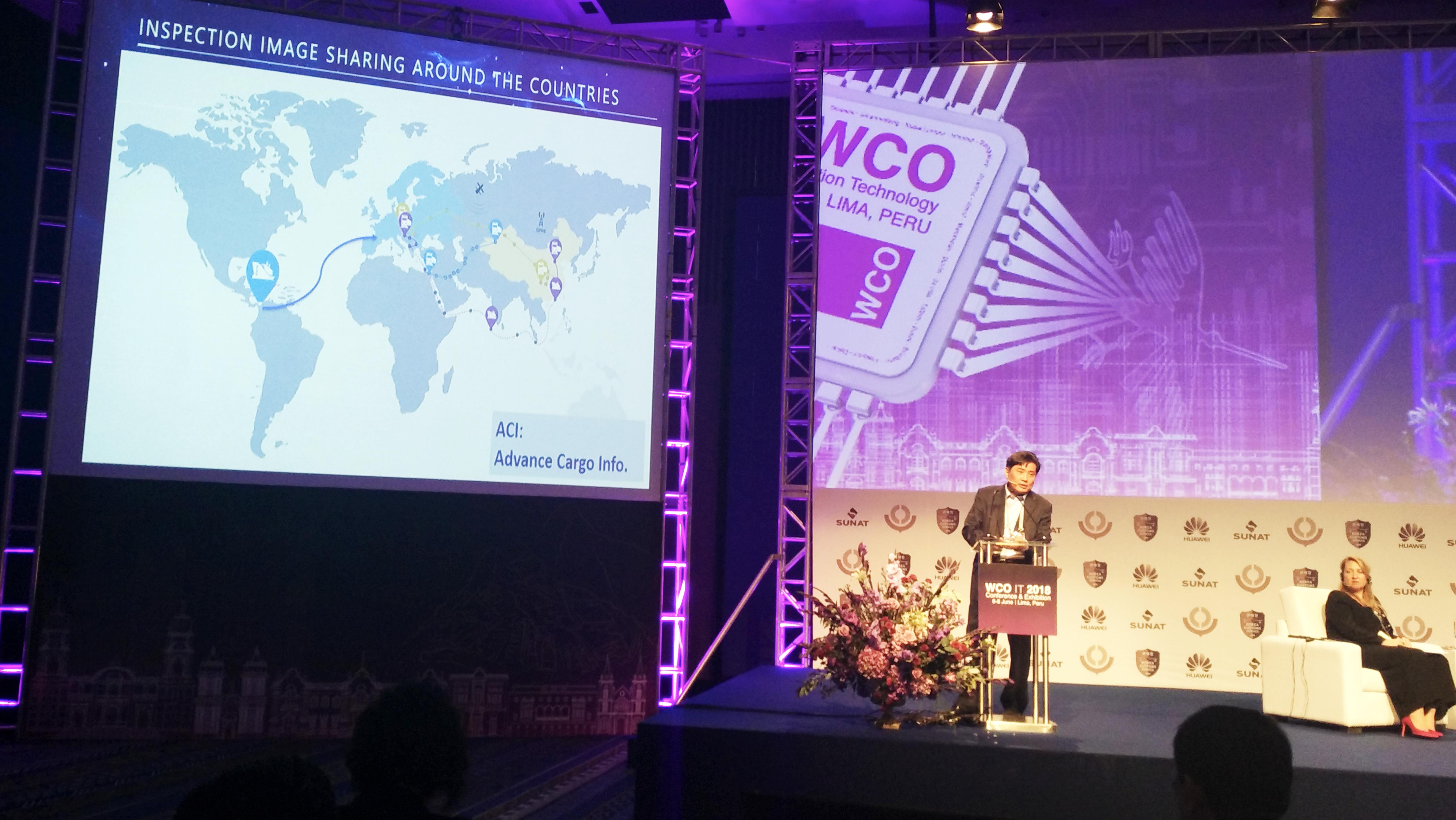 NUCTECH participated in the 2018 WCO IT Conference and Exhibition