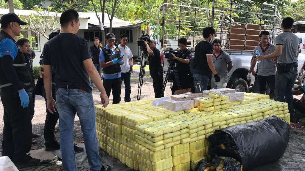 100 Million Capsules of Amphetamines Were Seized in Thailand with the Help of NUCTECH Security Inspection Equipment