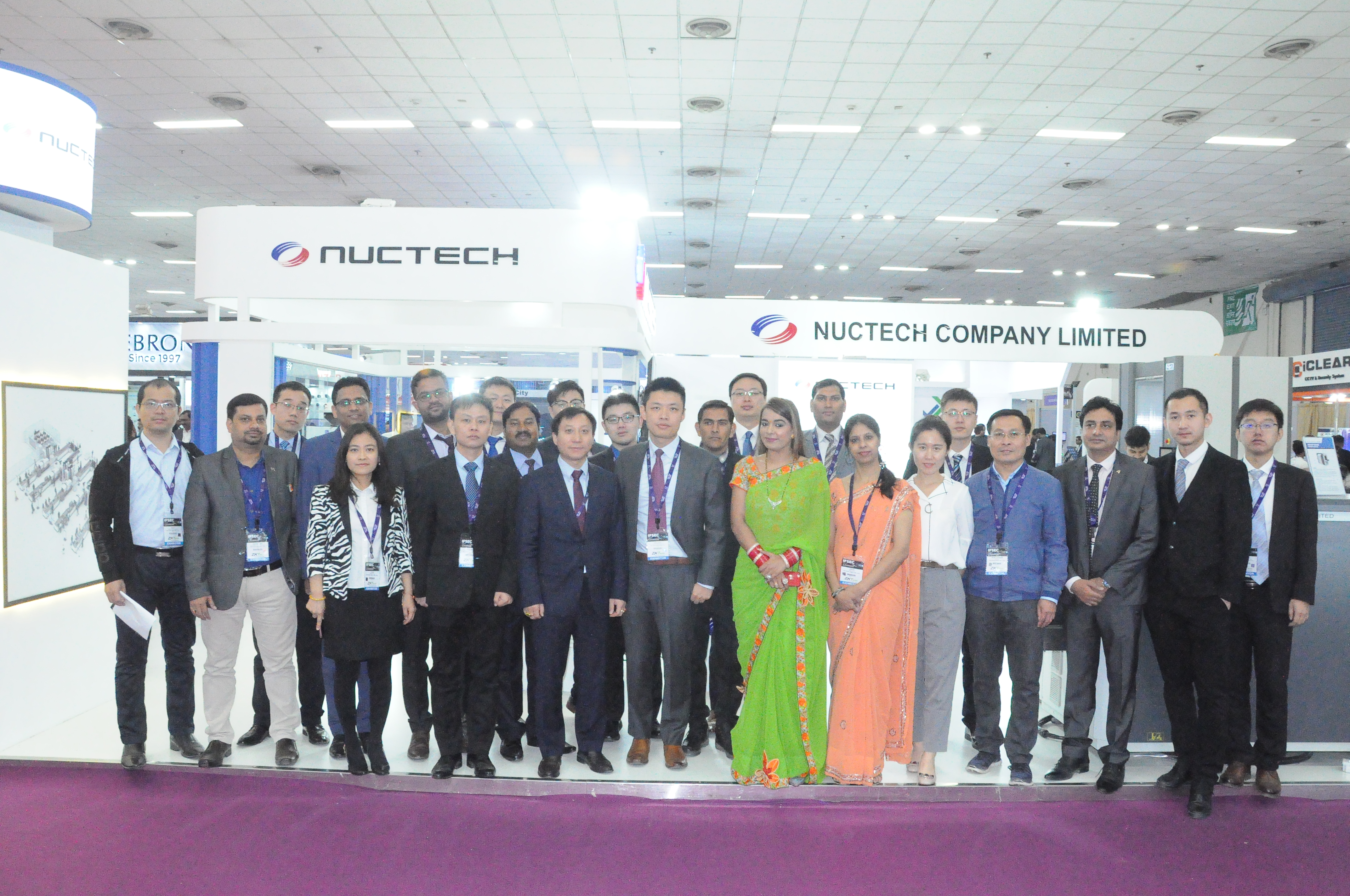 NUCTECH Attended the IFSEC India