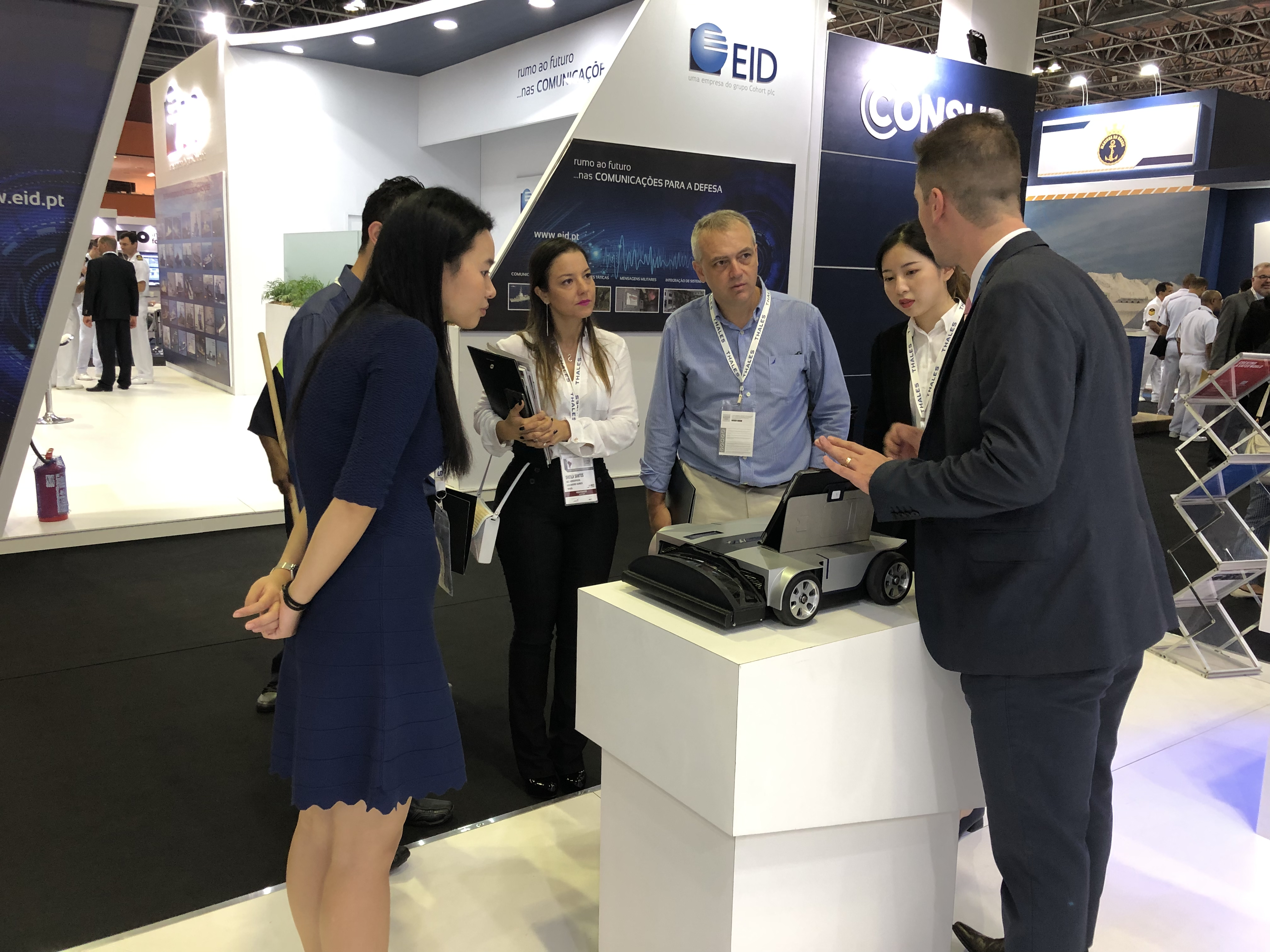 Nuctech Successfully Participated in the 2019 LAAD Latin American Defense & Security Exhibition