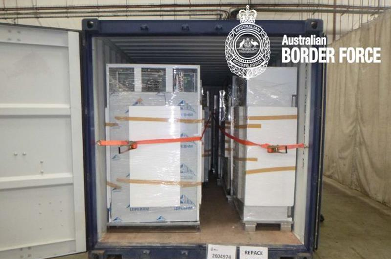The Equipment of Nuctech Helped Australia Seize Smuggled Methamphetamine Which Worth More Than 438 Million