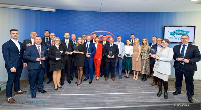 Nuctech Warsaw Company and two CT products won the 2019 Poland Best Entity Company Award and the  Best Product Award.